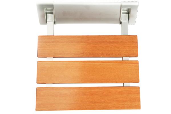 Asiento ducha abatible de madera easy way healthcare for Ducha madera