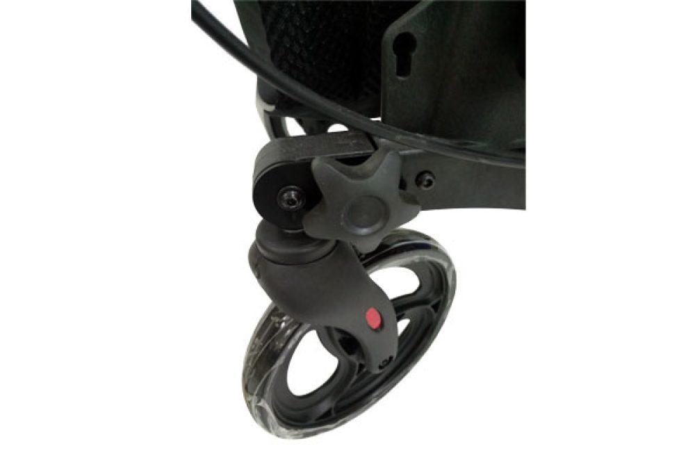 rollator manhattan-rueda y pomo
