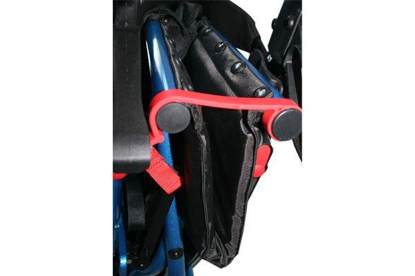 rollator brooklyn boton ajuste cierre seguridad asiento
