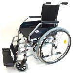 silla ruedas acero autopropulsable
